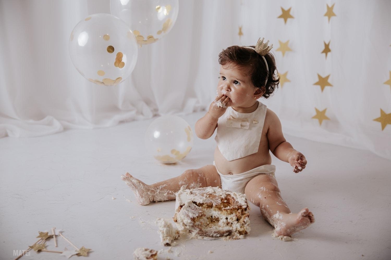 sesion smash cake en lugo